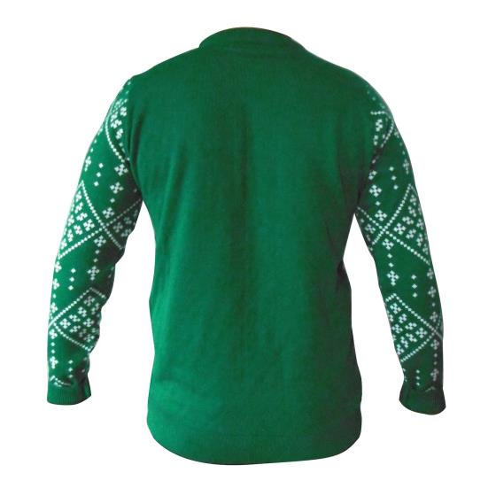 Robin Christmas jumper - RSPB exclusive product photo Back View -  - additional image 2 L