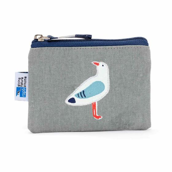 RSPB Coastal birds gull coin purse product photo