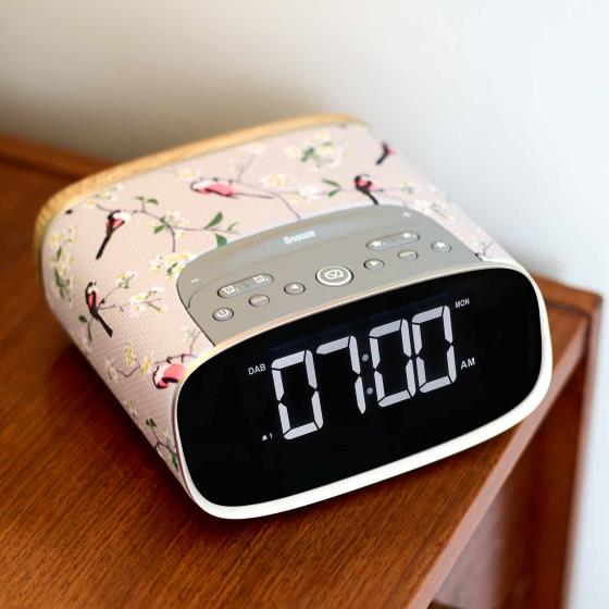 RSPB DAB Lark Alarm clock radio product photo Side View -  - additional image 3 L