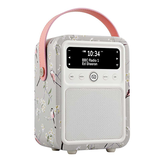 RSPB DAB Monty radio - Long-tailed tit product photo