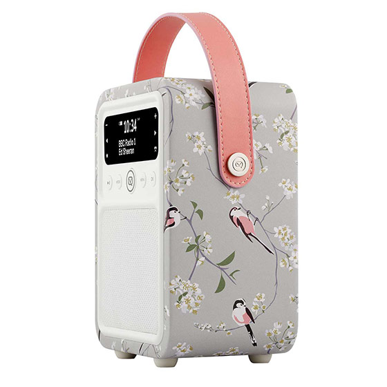 RSPB DAB Monty radio - Long-tailed tit product photo Back View -  - additional image 2 L