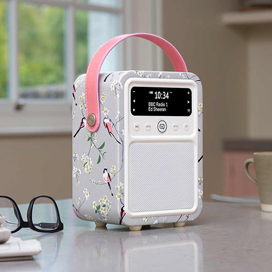 RSPB DAB Monty radio - Long-tailed tit product photo Front View - additional image 1 L