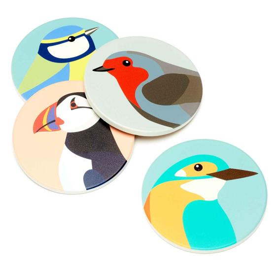 RSPB Free as a bird coasters product photo Front View - additional image 1 L