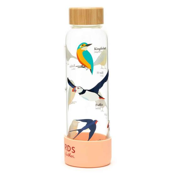 RSPB Free as a bird glass bottle product photo Front View - additional image 1 L