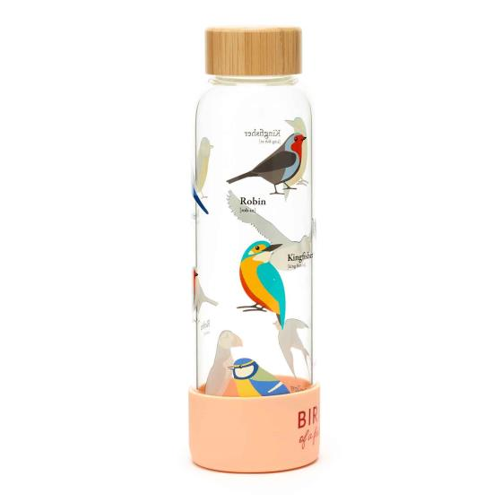 RSPB Free as a bird glass bottle product photo Side View -  - additional image 3 L