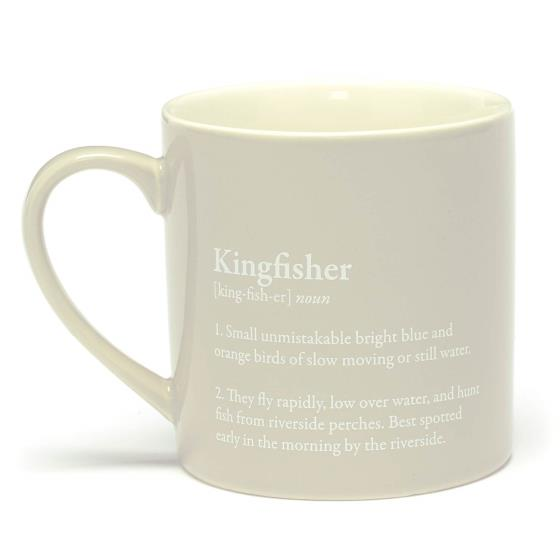 RSPB Free as a bird kingfisher mug product photo Front View - additional image 1 L