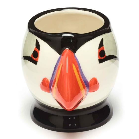 RSPB Free as a bird puffin head mug product photo
