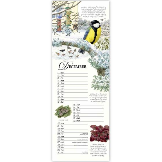 RSPB Friends and Neighbours calendar 2021 product photo Side View -  - additional image 3 L