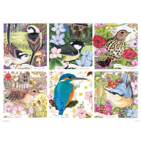 RSPB Garden birds jigsaw product photo Side View -  - additional image 3 L