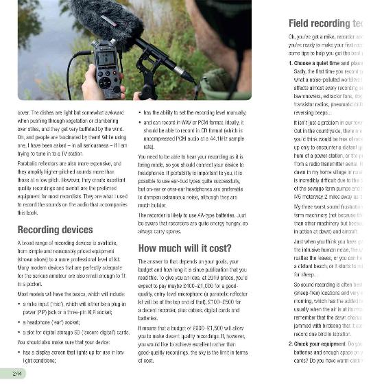 RSPB Guide to Birdsong by Adrian Thomas product photo Front View - additional image 1 L