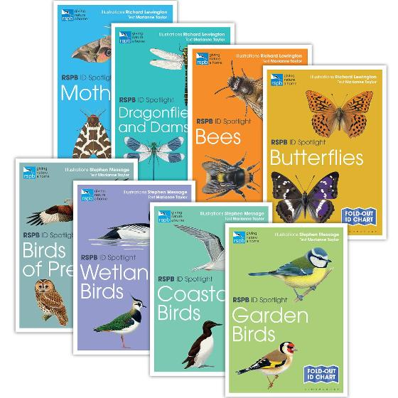 Wildlife identifier charts offer - RSPB ID charts x8 Spotlight series product photo Default L