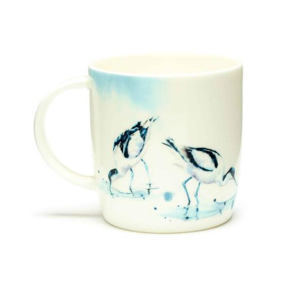 RSPB In the shallows avocets mug product photo Front View - additional image 1 L