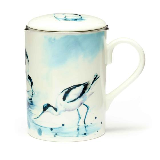 RSPB In the shallows avocets tea infuser mug product photo