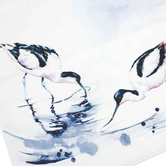 RSPB In the shallows avocets tea towel product photo Front View - additional image 1 L