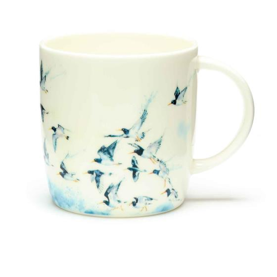 RSPB In the shallows oystercatchers mug product photo