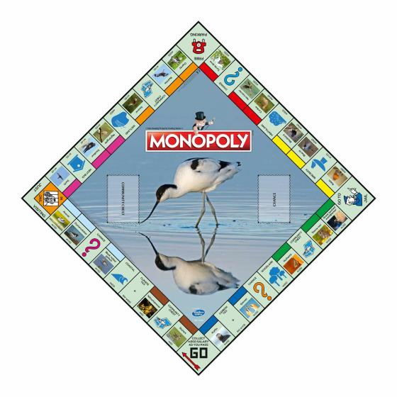 Monopoly - exclusive RSPB edition product photo Back View -  - additional image 2 L