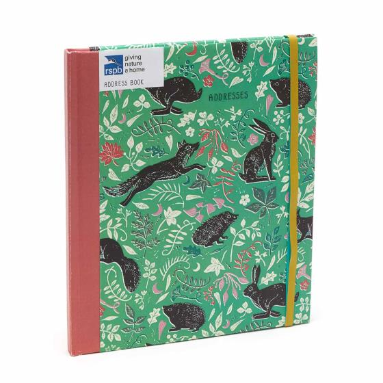 RSPB Nature's print address book product photo Default L