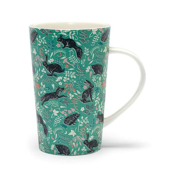 RSPB Nature's print wildlife latte mug product photo Default L