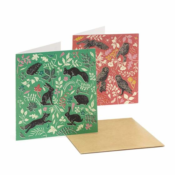 RSPB Nature's print wildlife notecard pack product photo