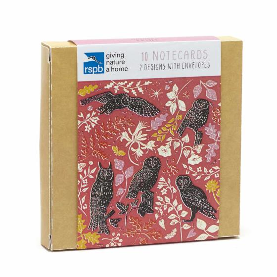 RSPB Nature's print wildlife notecard pack product photo Side View -  - additional image 3 L