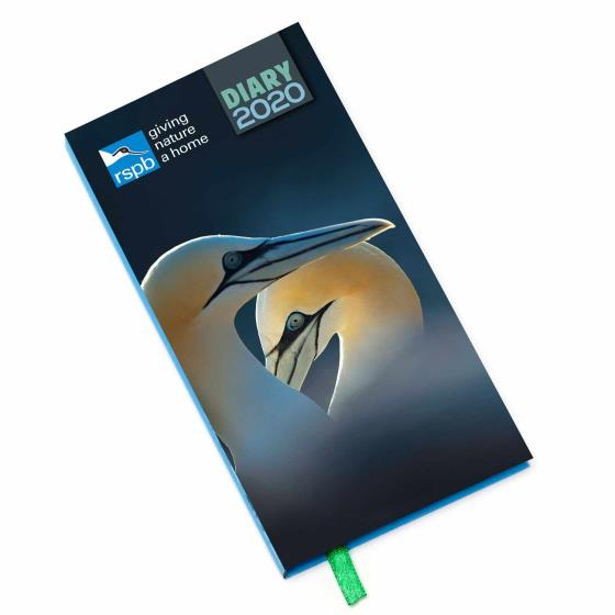 RSPB Pocket diary 2020, photographic cover product photo
