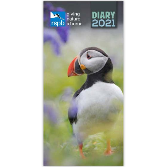 RSPB Pocket diary 2021, photo cover product photo