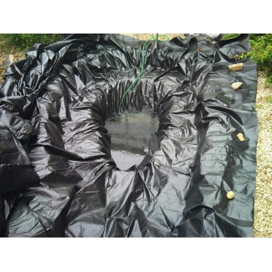 RSPB Pond liner kit, 4m x 3m product photo Back View -  - additional image 2 L