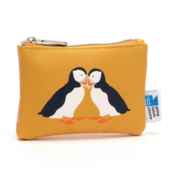 RSPB Puffins coin purse product photo
