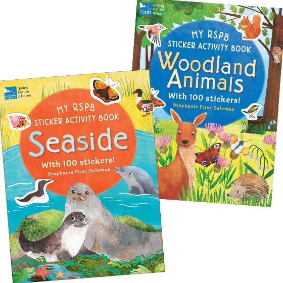 RSPB Sticker and activity books - double pack product photo Default L