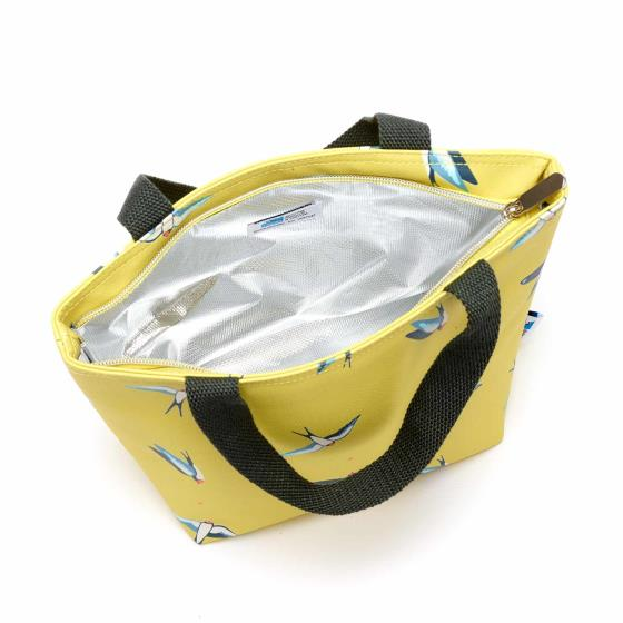 RSPB Swallows insulated lunch bag product photo Side View -  - additional image 3 L