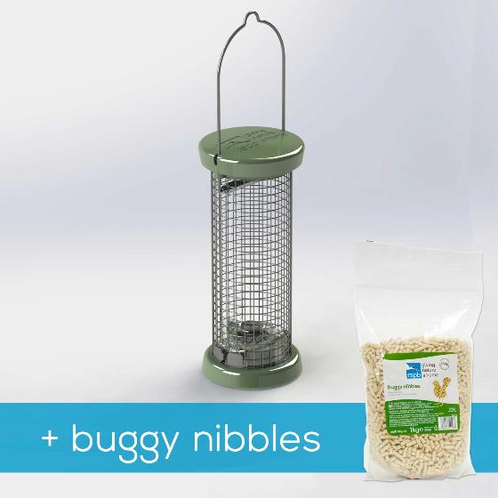 RSPB Ultimate nut & nibble feeder + buggy nibbles, small product photo Default L