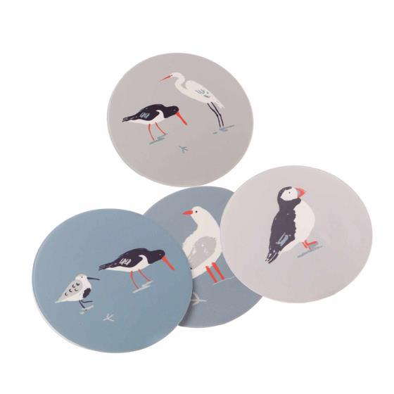 Seabirds coasters product photo Front View - additional image 1 L