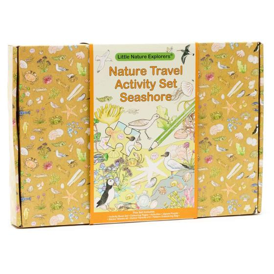 Nature travel activity set, seashore product photo Back View -  - additional image 2 L
