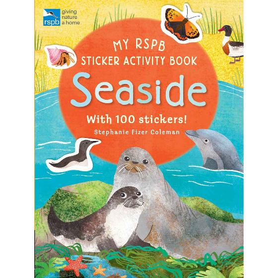 Seaside activity and sticker book by RSPB product photo