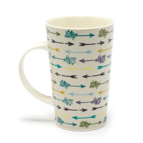 Sherwood latte mug product photo Side View -  - additional image 3 L
