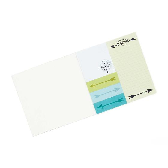 Sherwood notepad and sticky notes product photo Side View -  - additional image 3 L