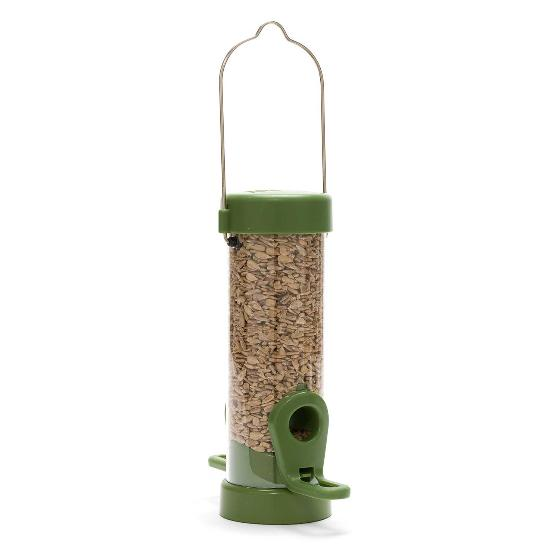 Classic easy-clean small seed feeder with 1.8kg sunflower hearts product photo Side View -  - additional image 3 L