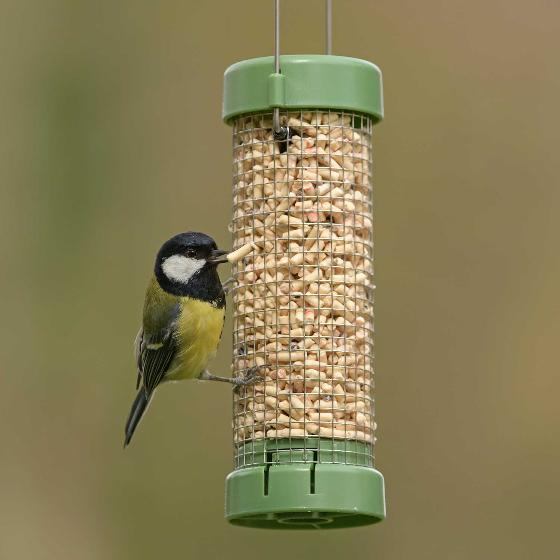 RSPB Classic easy-clean nut and nibble feeder - small product photo Back View -  - additional image 2 L