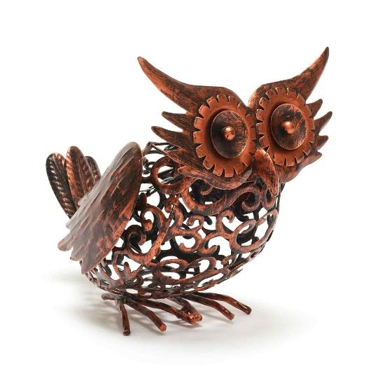 Owl solar light product photo Side View -  - additional image 3 L