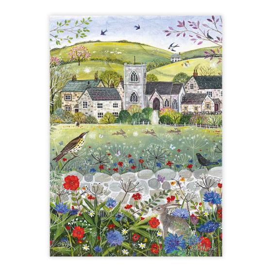 Spring is here 1000 piece jigsaw product photo Front View - additional image 1 L