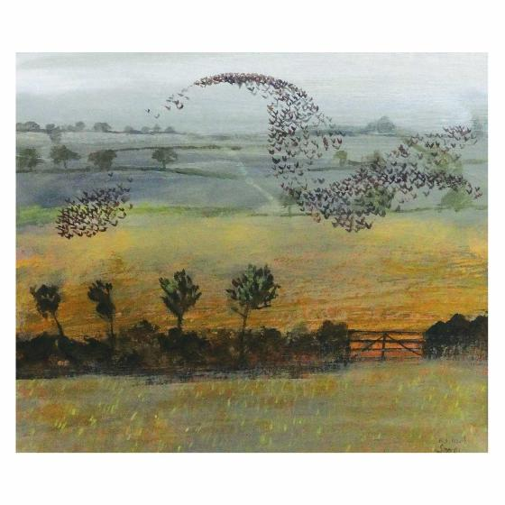 Starlings by Richard Sorrell card product photo Default L