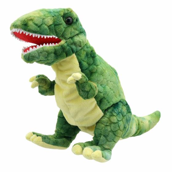 T-Rex dinosaur puppet product photo Default L