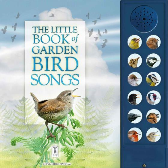 The Little Book of Garden Bird Songs with sounds product photo Default L