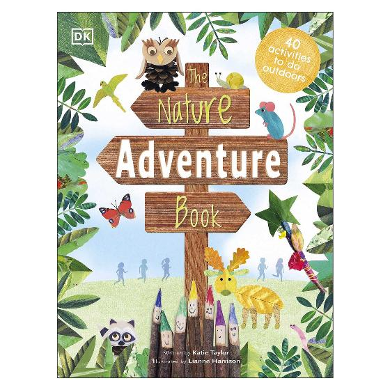 The Nature Adventure Book: 40 activities to do outdoors product photo