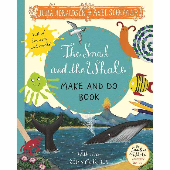 The Snail and the Whale - Make and do activity sticker book product photo Default L