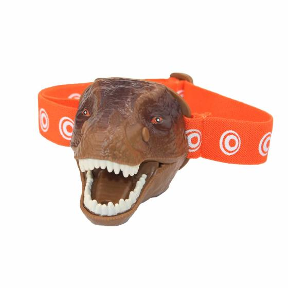 T-Rex dinosaur head torch product photo