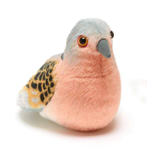 RSPB singing turtle dove soft toy product photo