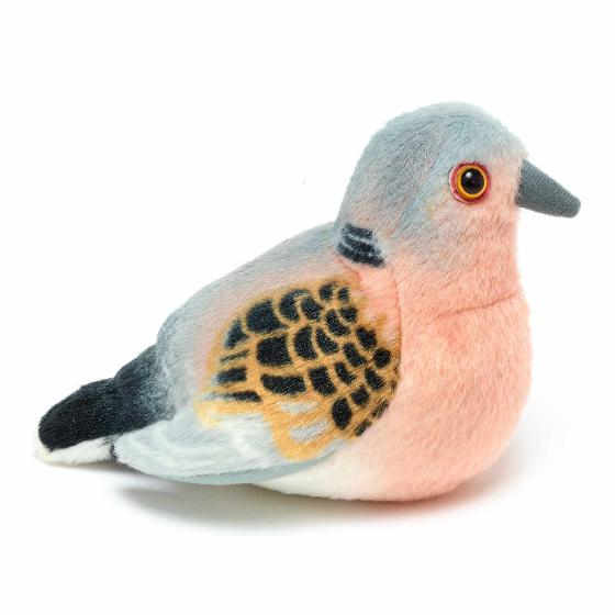 RSPB singing turtle dove soft toy product photo Side View -  - additional image 3 L