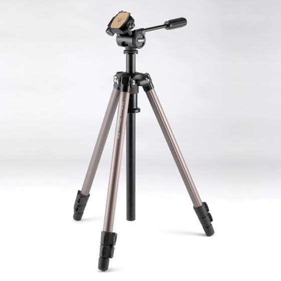 Velbon Sherpa 200 tripod with one-touch panhead product photo Default L
