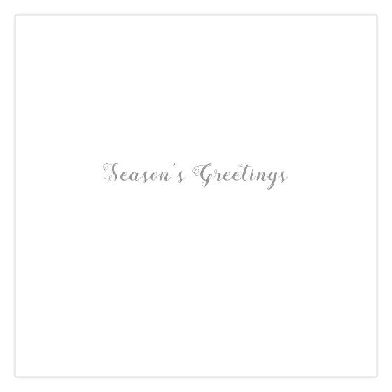 Winter song RSPB charity Christmas cards - 10 pack product photo Side View -  - additional image 3 L